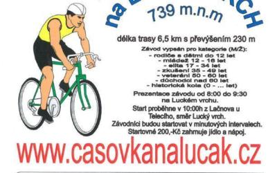 Cyklistický závod do vrchu 20.září